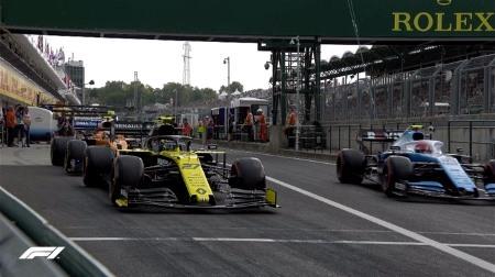 2019年F1第12戦ハンガリーGP、FP1結果