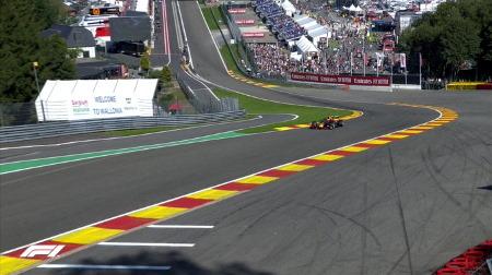 2019年F1第13戦ベルギーGP、FP1結果