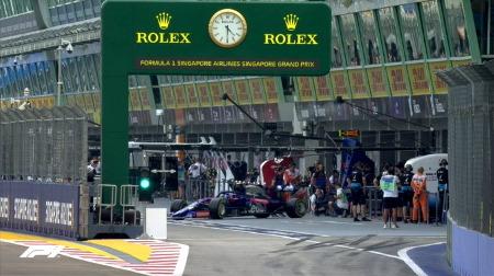 2019年F1第15戦シンガポールGP、FP1結果