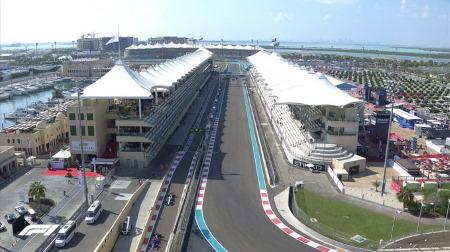 2019年F1第21戦アブダビGP、FP1結果