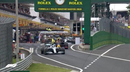 2019年F1第12戦ハンガリーGP、FP2結果