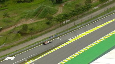 2019年F1第20戦ブラジルGP、FP2結果