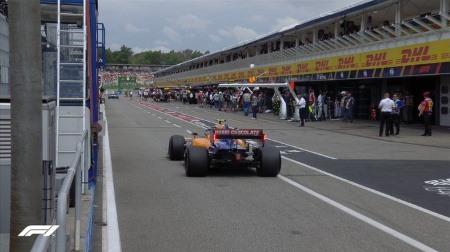 2019年F1第11戦ドイツGP、FP3結果