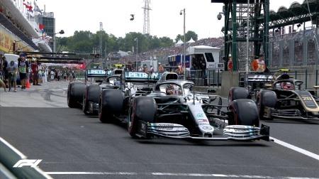 2019年F1第12戦ハンガリーGP、FP3結果