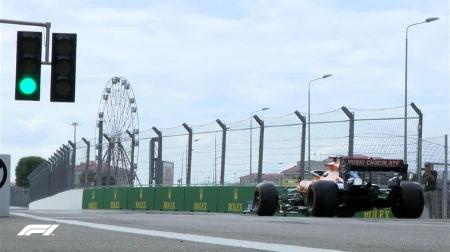 2019年F1第16戦ロシアGP、FP3結果