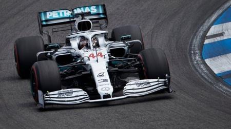 2019年F1第11戦 ドイツGP、PPはハミルトン