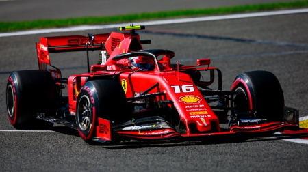 2019年F1第13戦 ベルギーGP、PPはルクレール