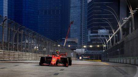 2019年F1第15戦 シンガポールGP、PPはルクレール