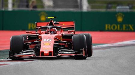 2019年F1第16戦 ロシアGP、PPはルクレール