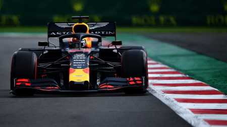 2019年F1第18戦 メキシコGP、PPはフェルスタッペン