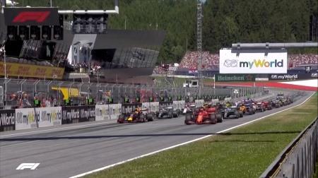 2019年F1第9戦のスタート