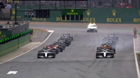 2019年F1第10戦のスタート