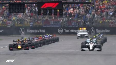 2019年F1第11戦のスタート