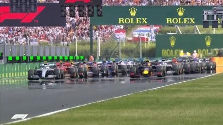 2019年F1第12戦のスタート