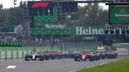 2019年F1第14戦のスタート