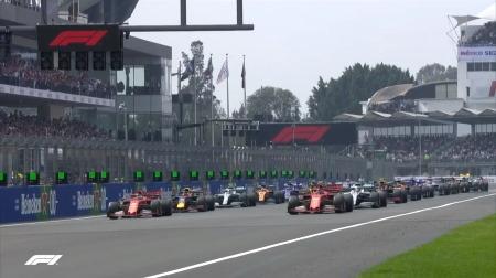 2019年F1第18戦のスタート