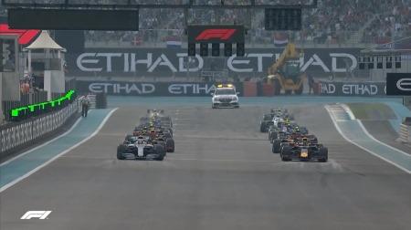2019年F1第21戦のスタート