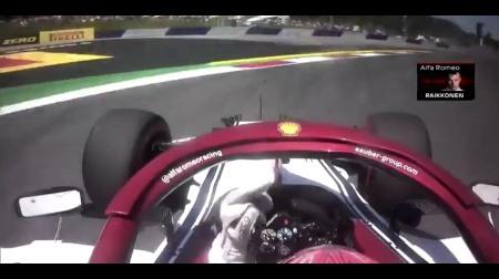 ライコネンが中指を立てた説明@F1オーストリアGP予選
