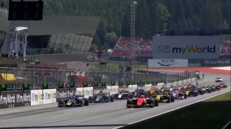 2019F2オーストリア決勝レース2結果