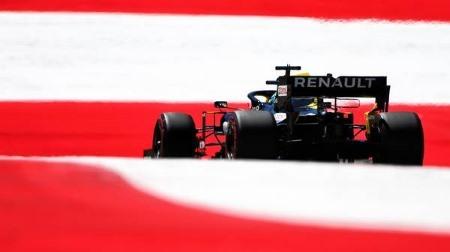 ルノー勢が問題を抱える@F1オーストリアGP