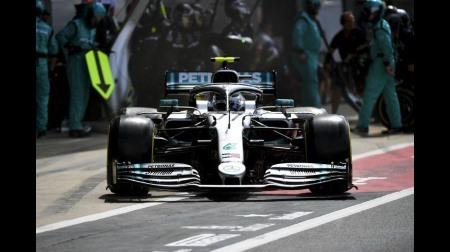 ボッタス、ハミルトンに完敗@F1イギリスGP