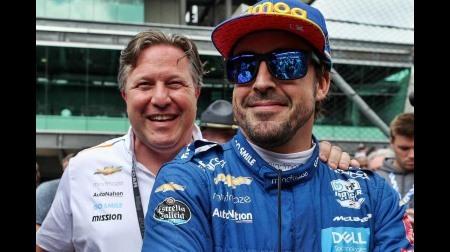 アロンソ、F1復帰に向けてマクラーレンのサポートを得る