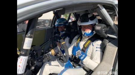 ボッタス、トヨタ・ヤリスWRCをテスト@フィンランド