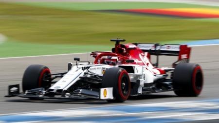 ライコネンが渾身の予選5位@F1ドイツGP