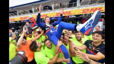 クビアトがキャリア2度目の表彰台@F1ドイツGP