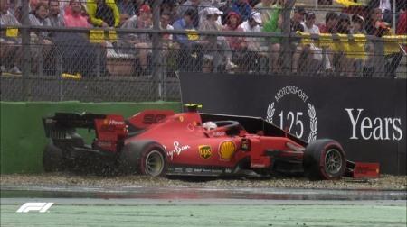 フェラーリのルクレールがランオフの舗装にクレーム@F1ドイツGP