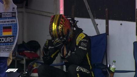 ヒュルケンベルグ、表彰台のチャンスをフイに@F1ドイツGP