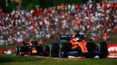 ガスリー、3強にいながらマクラーレンに負ける?@F1ハンガリーGP