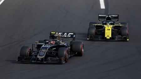 リカルド、マグヌッセンの動きに不満@F1ハンガリーGP