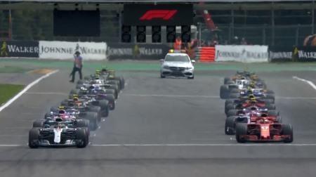 2019F1ベルギーGPのタイヤチョイス