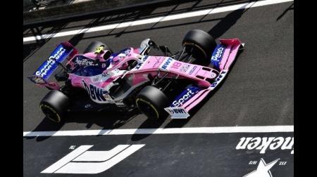 レーシングポイントのタイトルスポンサー「スポートペサ」が国内のスポンサー活動停止