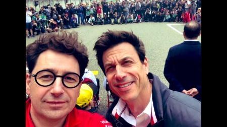 フェラーリのビノットが謎の自信