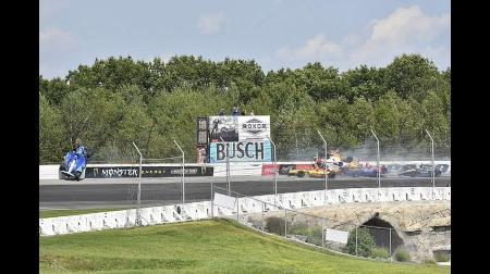 インディカー・ポコノ1周目のアクシデントを検証