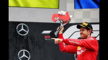 ベッテル、F1のトロフィーに物申す