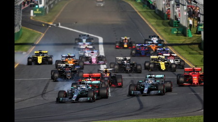 F1マシン規則とサーキット