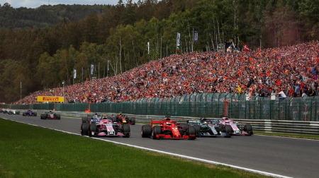 各チームのアップデート情報@F1ベルギーGP・スパ