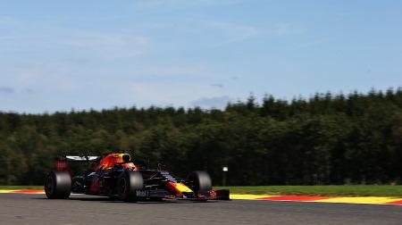 レッドブルのマシンのホンダのロゴに変化@F1ベルギーGP・スパ