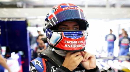 ガスリー、トロロッソ復帰戦で9位入賞@F1ベルギーGP・スパ