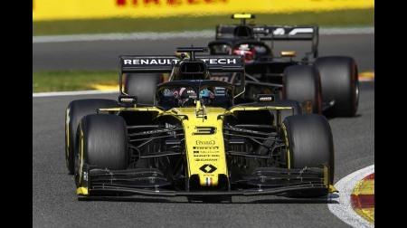 リカルド、Mタイヤでほぼ全ディスタンスを走りきらされる@F1ベルギーGP・スパ