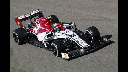 ジョビナッツィ、痛恨のミスで入賞を不意に@F1ベルギーGP・スパ