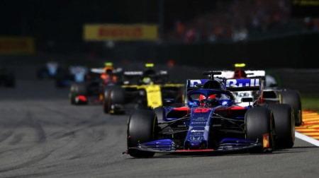 クビアト、レース運びと最終結果に大満足@F1ベルギーGP・スパ