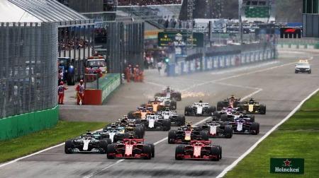 各チームのリアウィング比較@F1イタリアGP・モンツァ