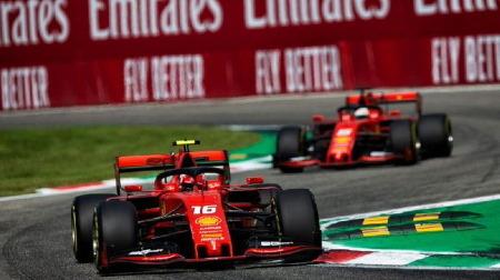 ベッテル、ルクレールに不満@F1イタリアGP予選