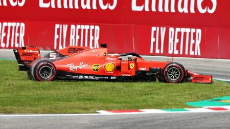 ベッテル、フェラーリの地元モンツァでやらかし@F1イタリアGP
