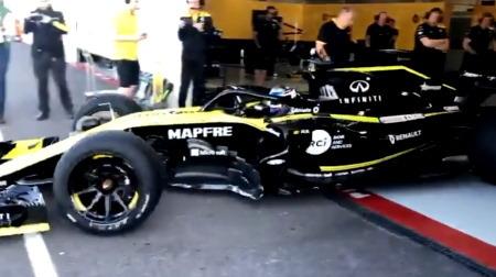 ピレリ18インチF1タイヤテスト@ポールリカール