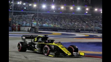 リカルド、MGU-Kの出力超過で予選失格@F1シンガポールGP